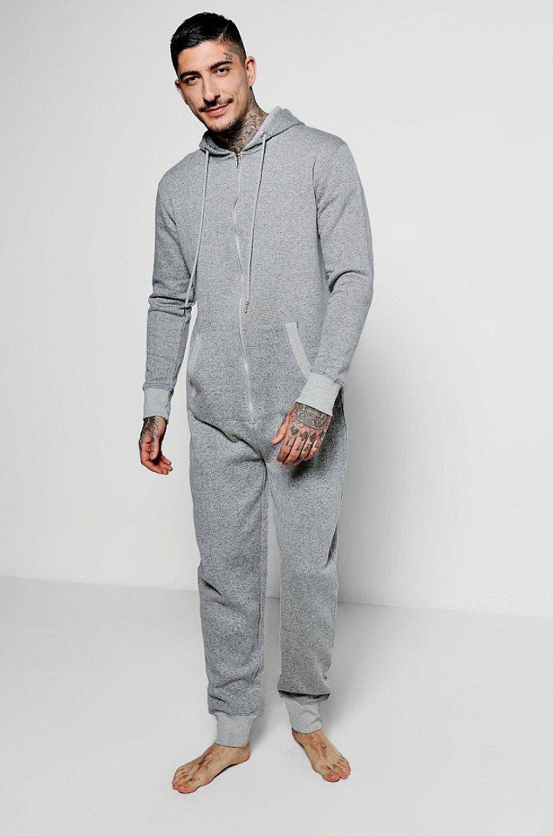 GREY NEPPED ONESIE - NOW ONLY £15