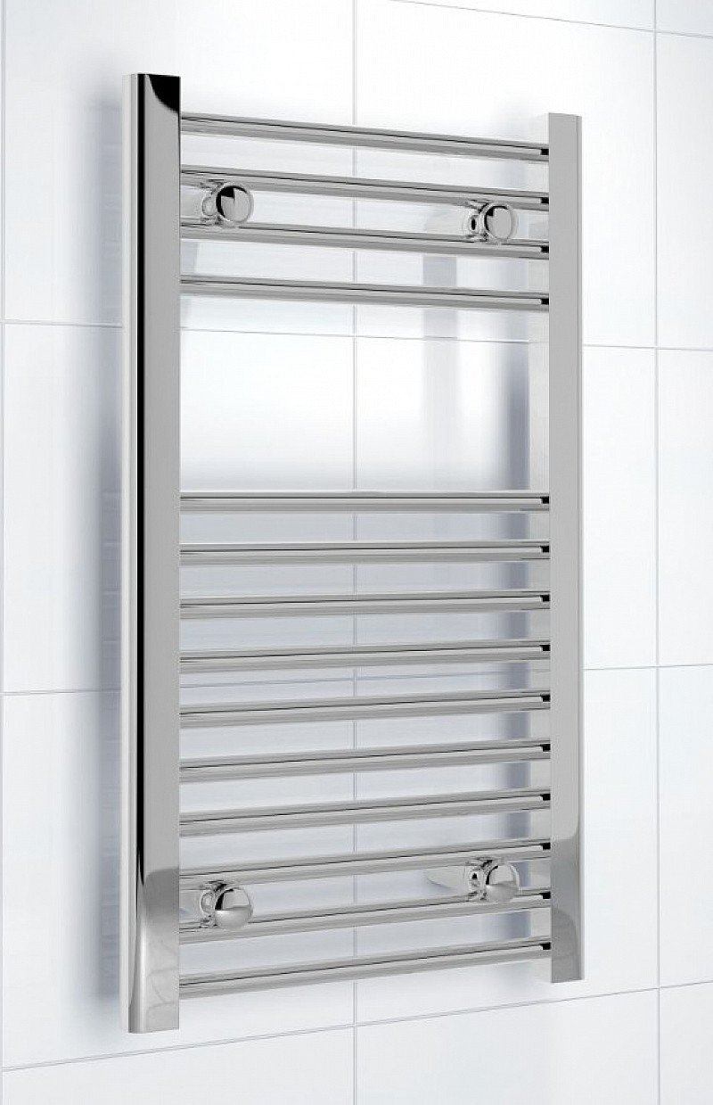 Kudox Silver Heated Towel Rail For Only 20 B Q Deal Snizl