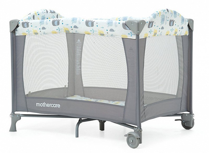 Mothercare Elephant Travel Cot - SAVE 50%!