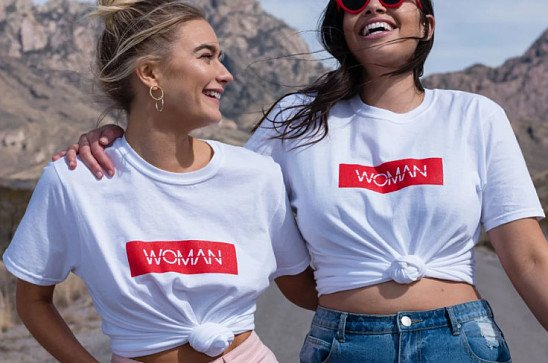 It's International Woman's Day! Evie Woman T Shirt - NEW IN £10!