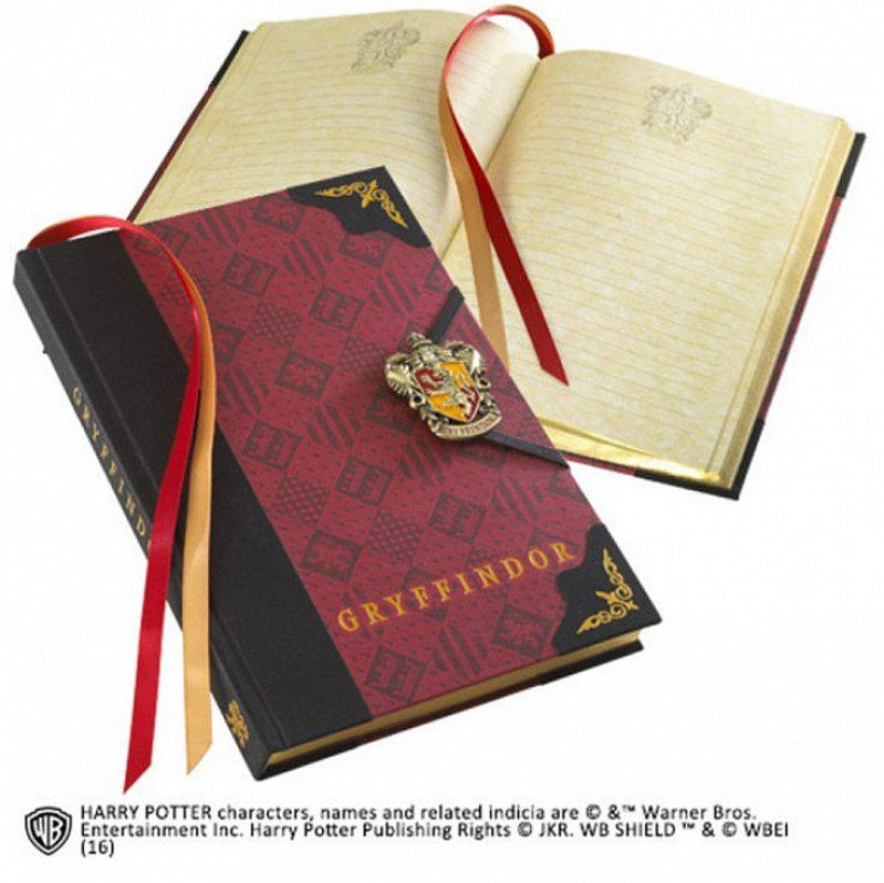 GRYFFINDOR JOURNAL - was £25 - NOW ONLY £18.75