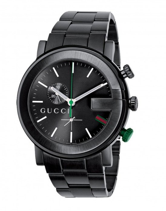 Save £300 on this Gucci G-Chrono men's black PVD watch