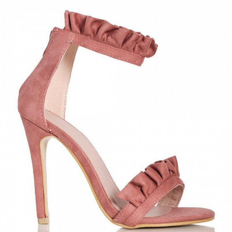 Frill Barely There Heel Sandal - from £9.99