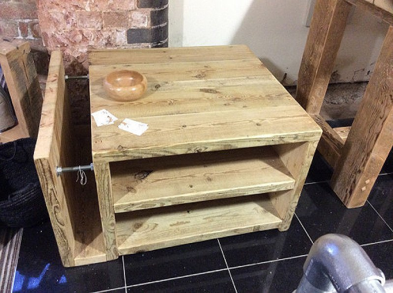 100% Handmade - The Cube Coffee Table £480.00!