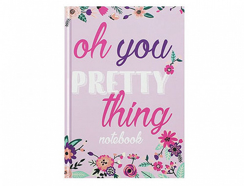 A5 Casebound Pretty Thing Notebook - SAVE 83%