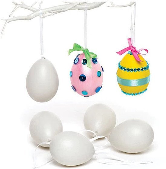 Save up to 24% on these Ribbon Hanging Plastic Eggs
