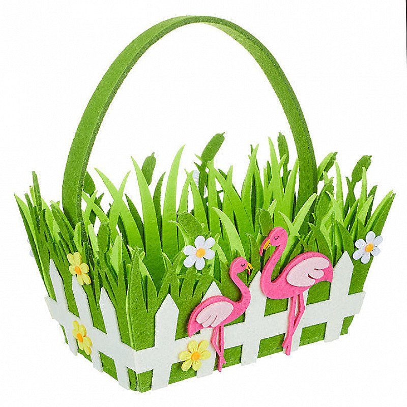 Our Easter Flamingo Basket is only £7. Perfect for your children this Easter.