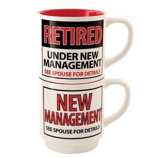SAVE 50% on this Retired Stacking Mug Set!