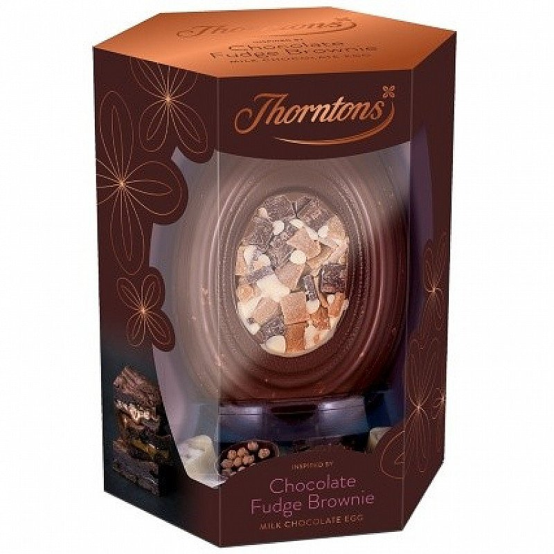 Thorntons Chocolate Fudge Brownie Egg - NOW ONLY £8.99!