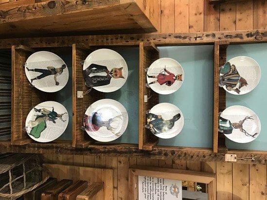 Decorative Wall Plates £45.00 - £50.00!