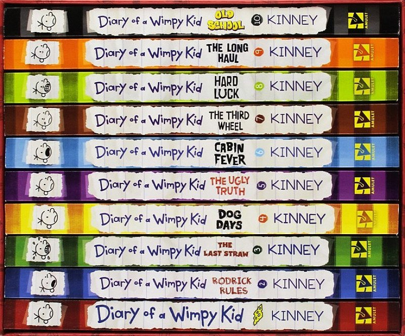 Diary of a Wimpy Kid Collection - 12 Books - SAVE 83%!