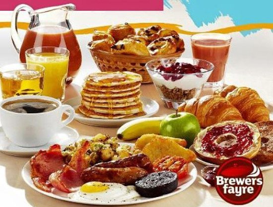 ALL YOU CAN EAT BREAKFAST - £8.99 - KIDS EAT FREE!