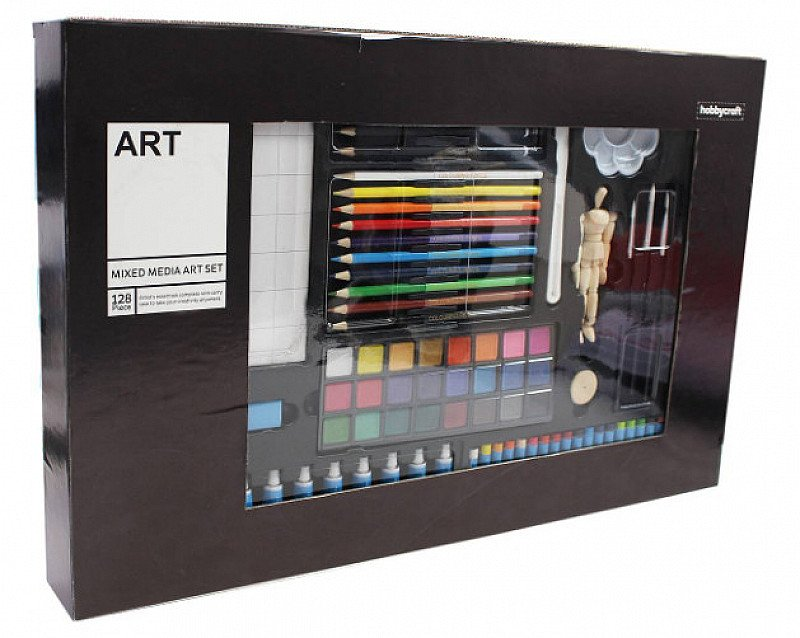 SAVE 20% on this 128-piece Mixed Media Art Set!