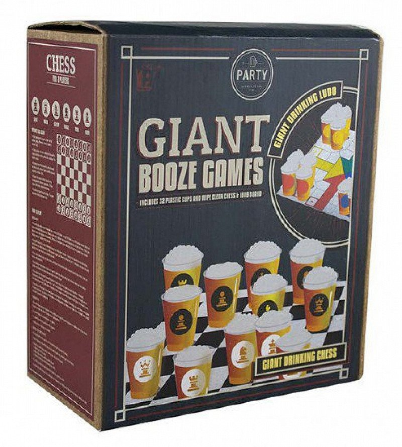 Get Ready to Party! SAVE 50% on GIANT BOOZE GAMES!
