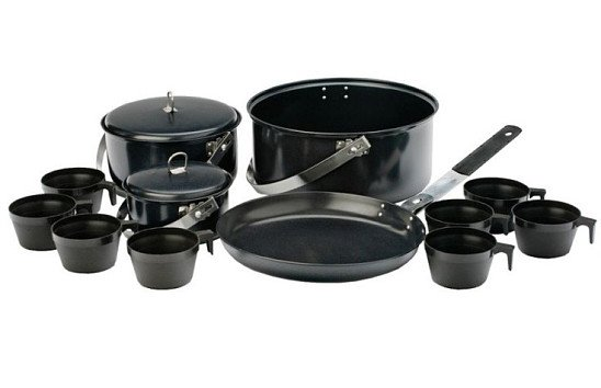 Vango 8 Person Non Stick Cook Kit - SAVE 46%