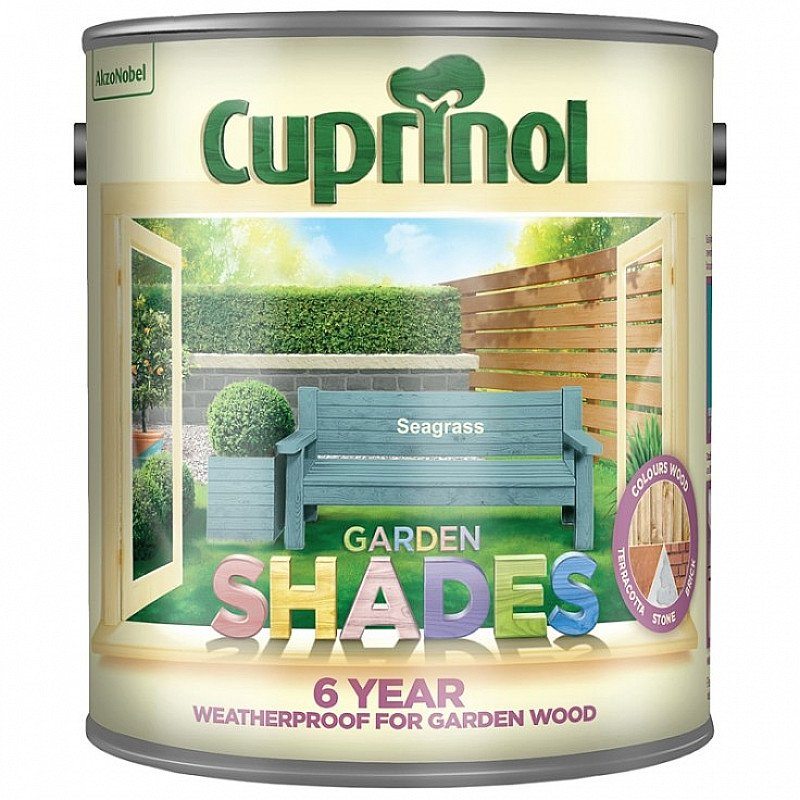 SAVE £3 on CUPRINAL Garden Shades Exterior Paint!