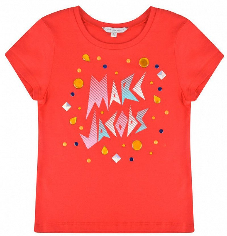 SAVE 49% on this MARC JACOBS Children Girls Gem Logo T Shirt!