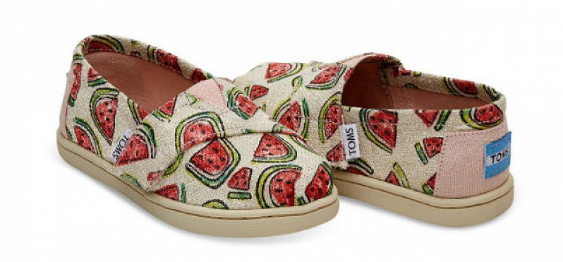 SAVE 40% on PINK GLITTER WATERMELONS TINY TOMS CLASSICS!