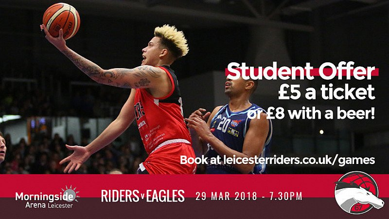 Student Night at Morningside Arena, Leicester!!