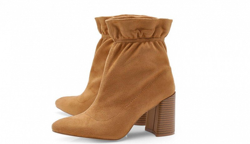 Get £10 OFF these Super Cute Ankle Detail Sock Boots!