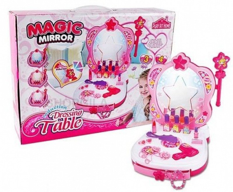 Magic Mirror Induction Dressing Table Set - ONLY £24!
