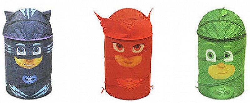 Get 40% OFF these PJ Masks 3D Pop Up Storage Bins!