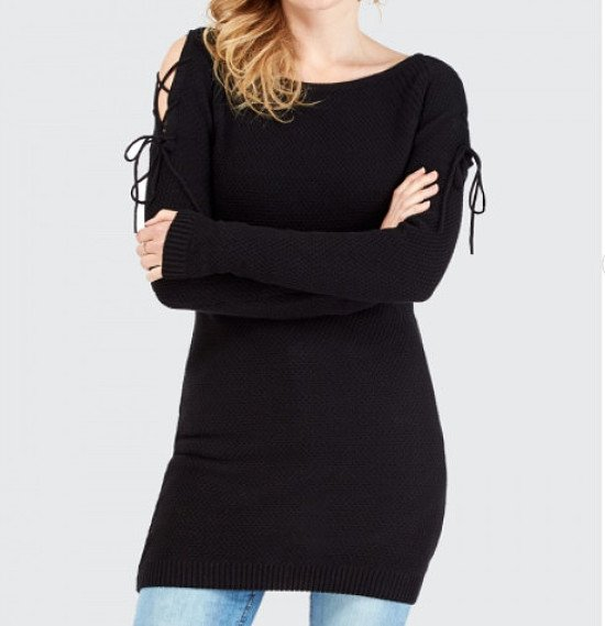 SAVE 60% on this Lace Shoulder Stitch Tunic!