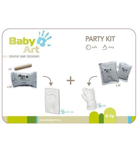SAVE 44% on this Baby Art Party Kit!