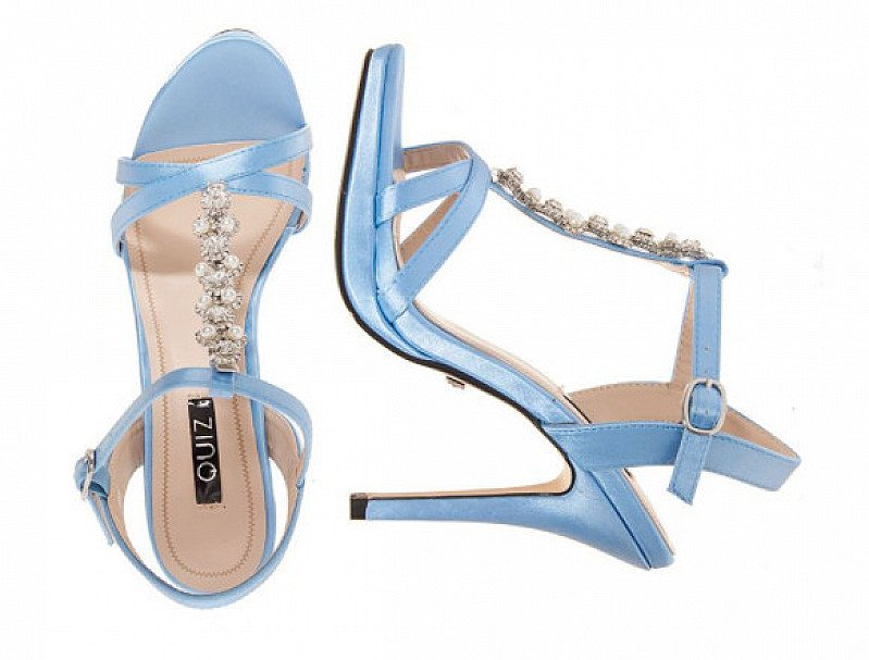 14% OFF Pearl Heel Sandals - 2 Colours available!