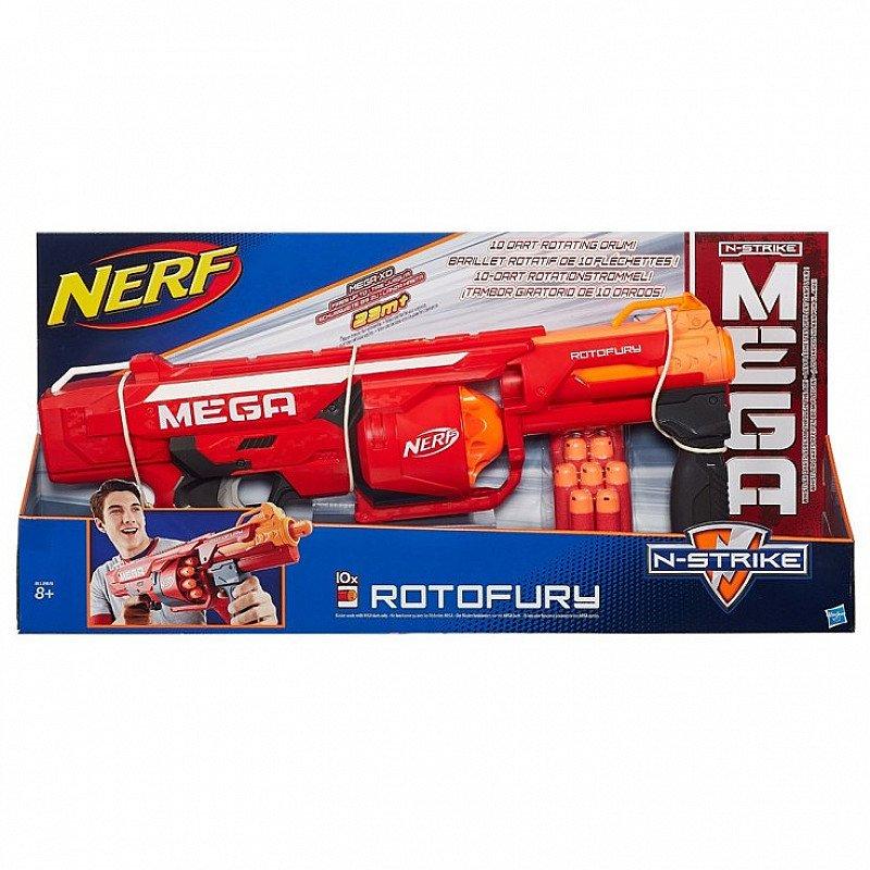 NERF N-Strike Mega Series Roto Fury Blaster- Now only £15
