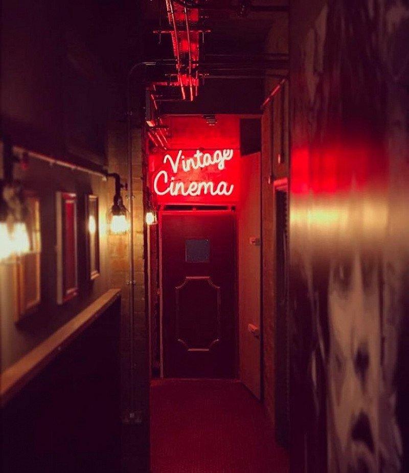 Check out our unique vintage cinema.