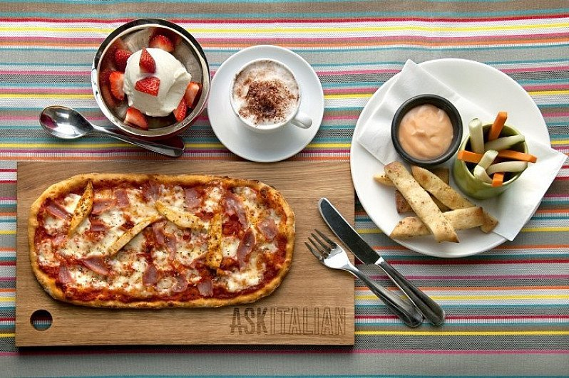 BAMBINOS HUNGRY? Try our Kids Menu 3-courses & Drink for ONLY £6.95