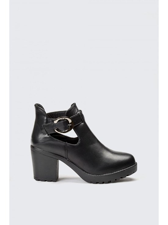 SAVE 30% on these Cut Out Block Boots!