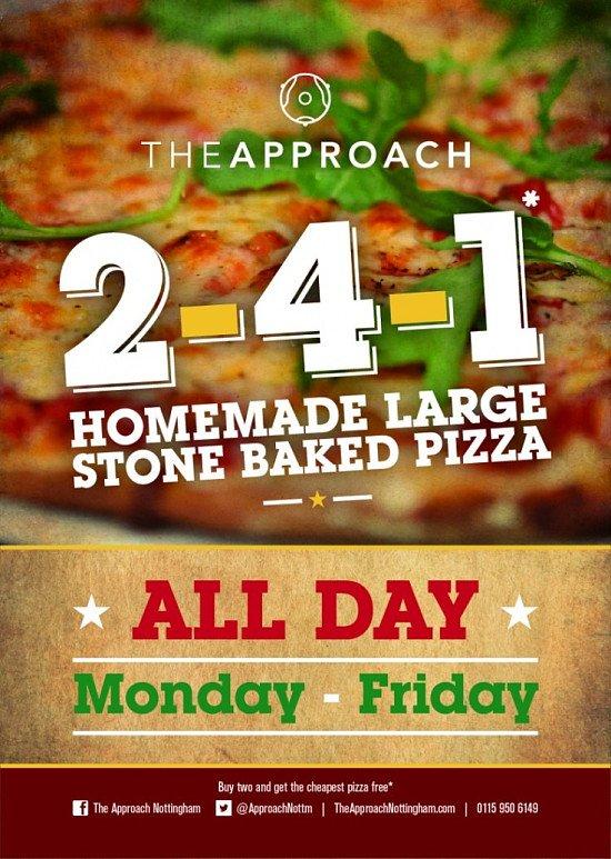2 4 1 Pizzas