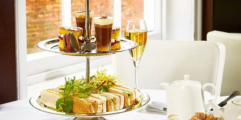 SAVE 44% on Afternoon Tea for up to 4 with Bubbly in Notts!