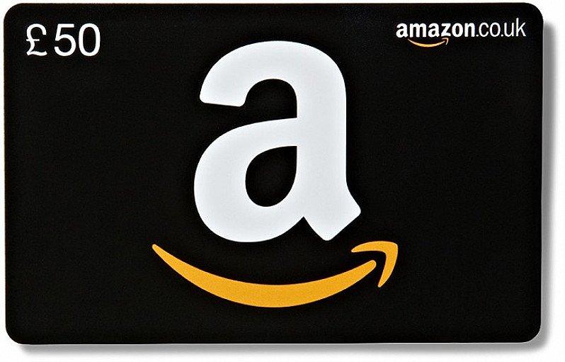 WIN - £50 Amazon Gift Card