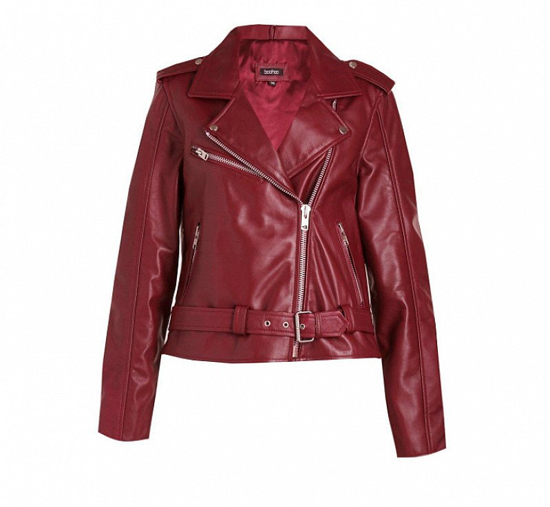 SAVE £40 on this Lily Leather Biker Jacket!