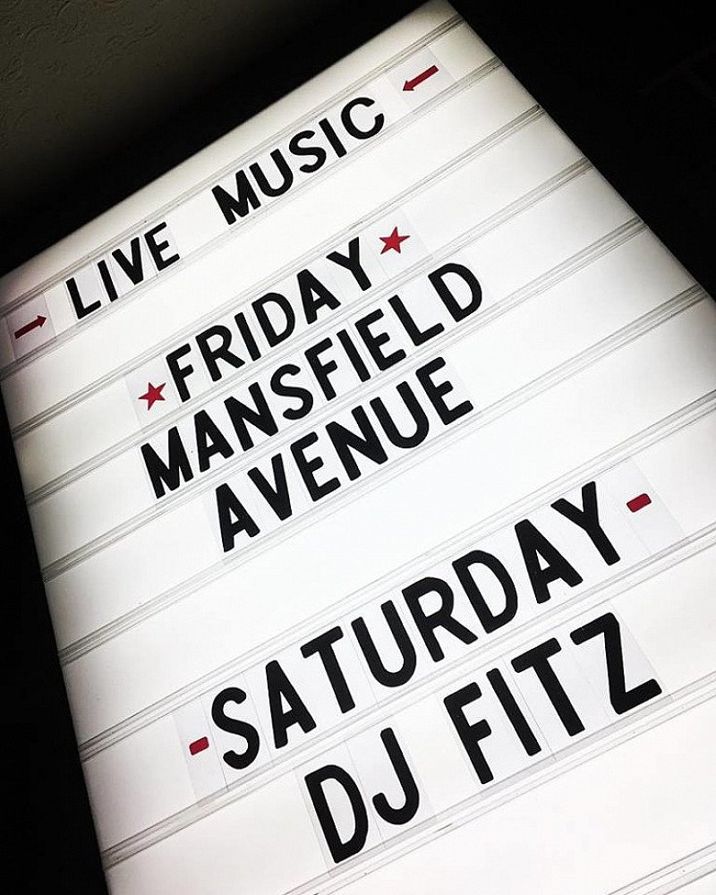 The weekend is near! This Friday we have Mansfield Avenue
