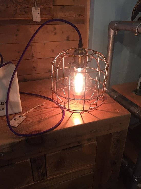 NEW  XL Vintage Cage Light - In-store now!