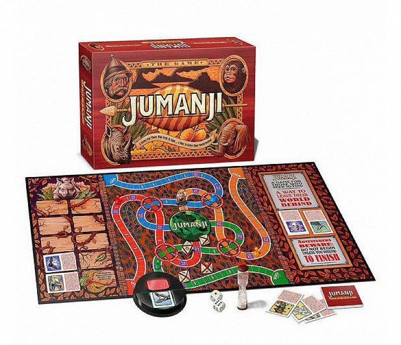 1/2 PRICE - JUMANJI BOARD GAME!