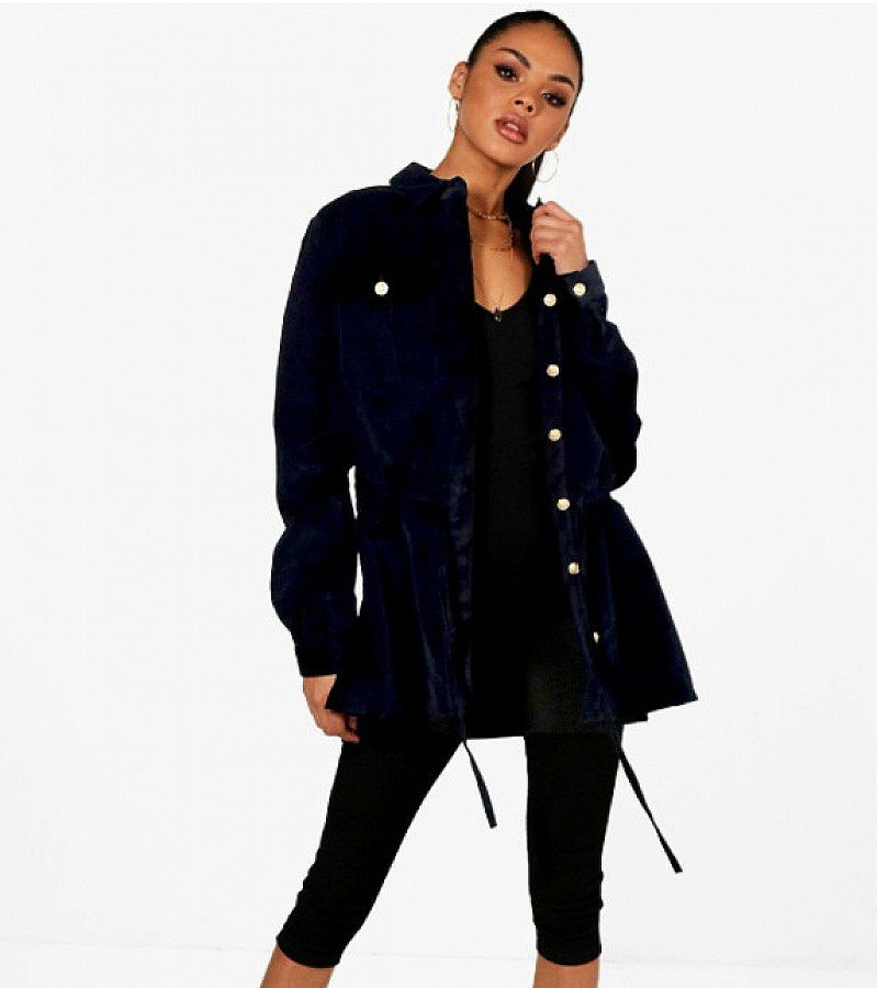 28% OFF this Jan Oversized Cord Jacket!
