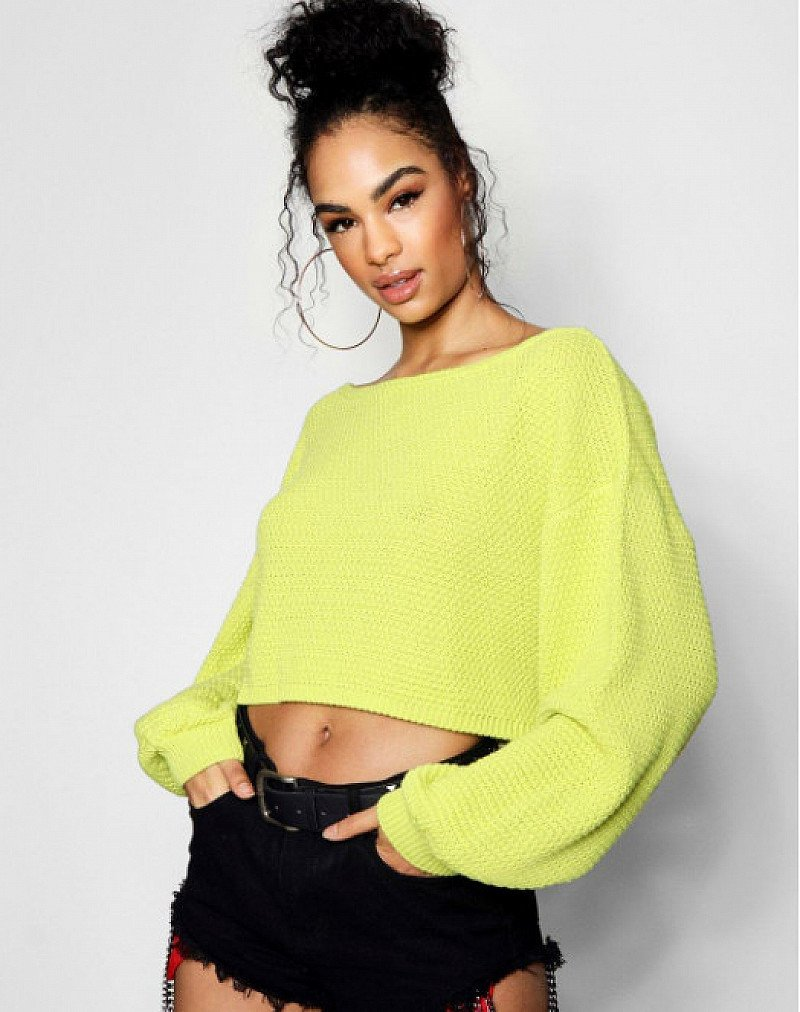 SAVE 40% on this Harlie Off The Shoulder Slouchy Jumper!