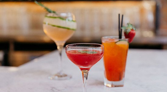 Enjoy a drink with us to head into the week!