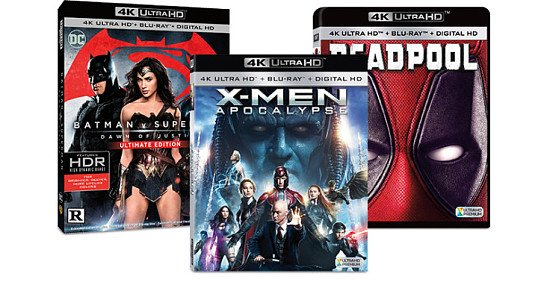 Up to 50% OFF - 4K UHD Blu-rays!