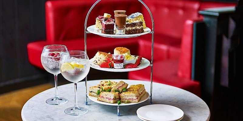 Café Rouge: Afternoon Tea with G&T for 2 - LESS THAN 1/2 PRICE!