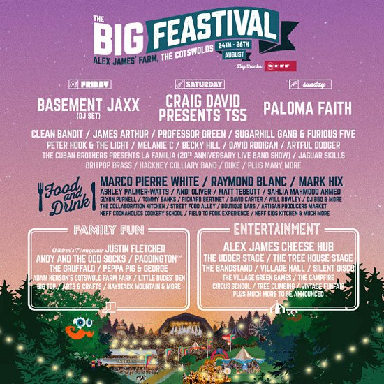 The Big Feastival tickets from £37.25!