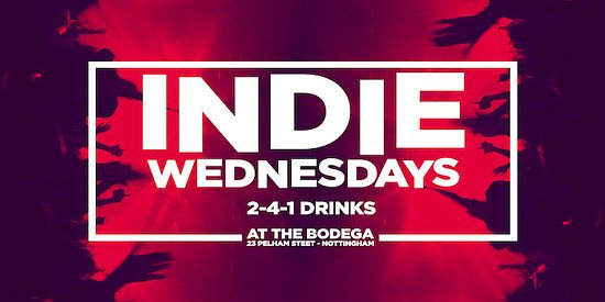 Indie Wednesdays: Music for the few, not the many!