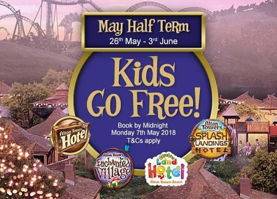 Escape to May Half Term at Alton Towers Resort!