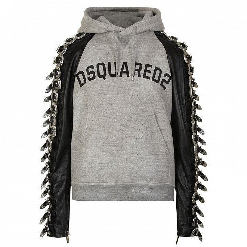 1/3 OFF this DSQUARED2 Buckle Logo Hooded Sweatshirt - SAVE OVER £1000!!!