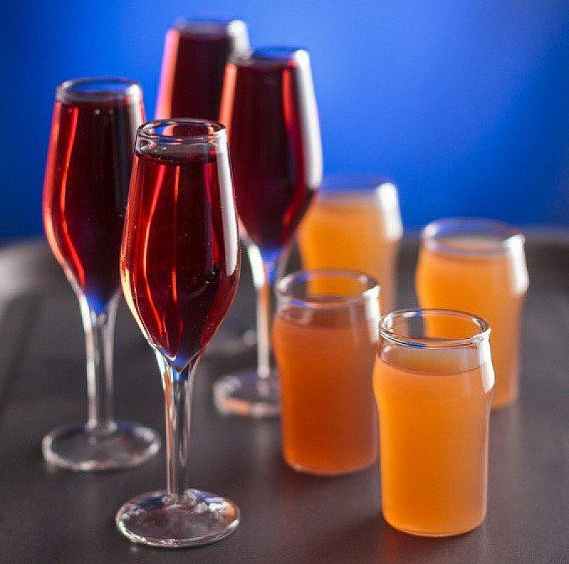 Set of 4 Mini Champagne Shot Glasses - SAVE £2!